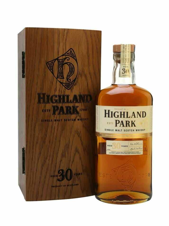Image of   Highland Park 30 Yo Single Malt Scotch Fl 70