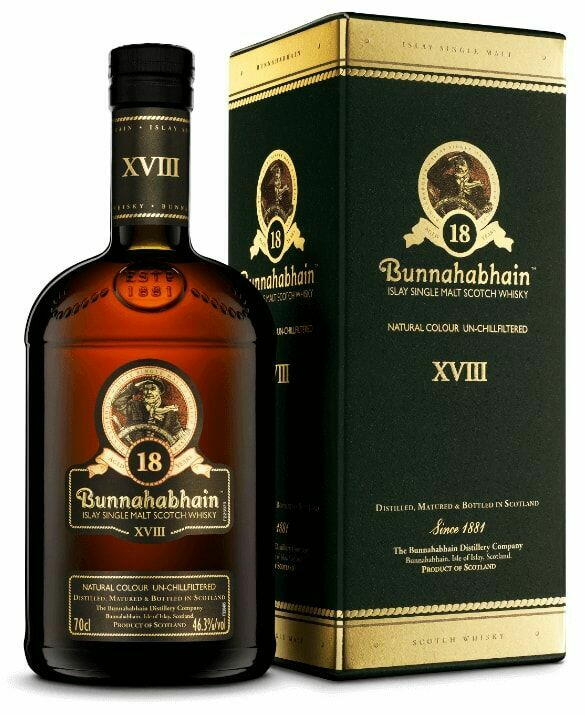 Image of   Bunnahabhain 18 Yo Islay Single Malt Fl 70