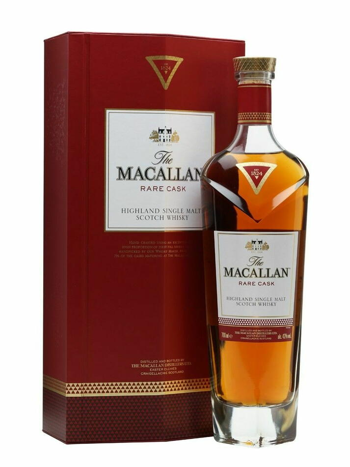 Image of   Macallan Rare Cask Speyside Single Malt Fl 70