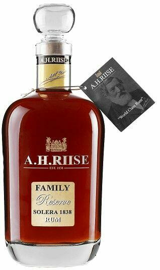 Image of A.H. Riise Family Reserve Solera 1838 FL 70