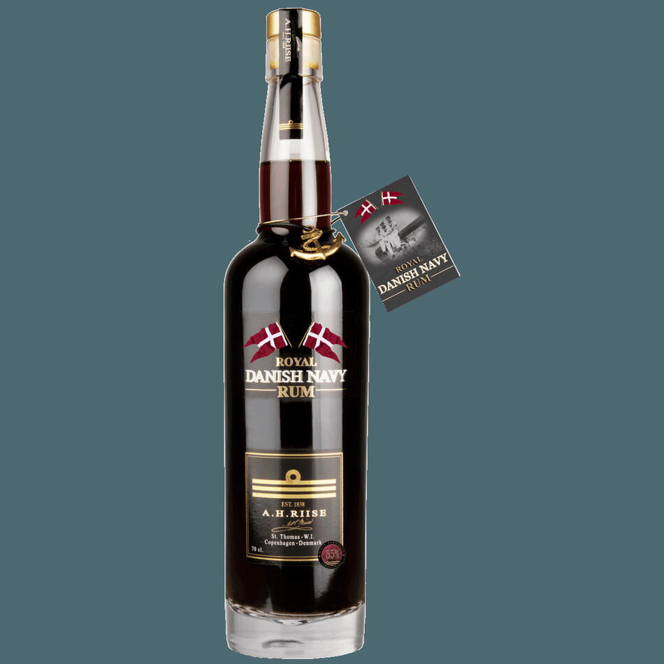 """Image of A.H. Riise """"Navy Strength"""" Rum FL 70"""