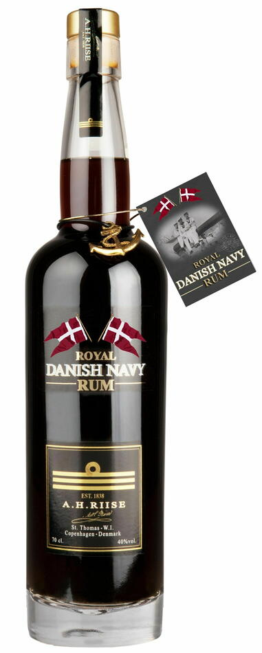 Image of A.H. Riise Navy Rum FL 70