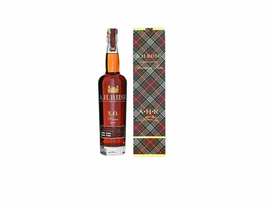Image of   A.H. Riise Christmas Rum Vintage 2017 FL 70
