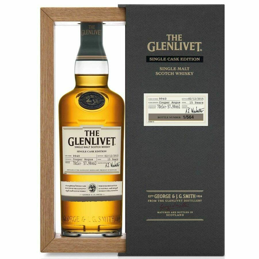 "Image of   The Glenlivet ""Coupar Angus"" Single Cask Edition Fl 70"