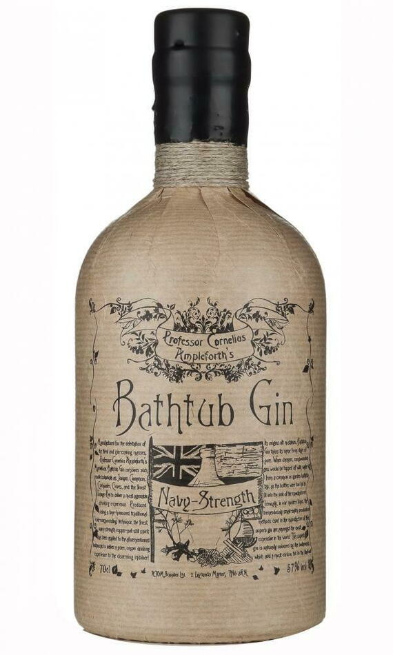 Image of   Bathtub Navy Strength Gin Fl 70