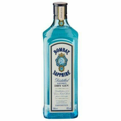 Image of   Bombay Sapphire London Dry Gin 40%* 1 Ltr