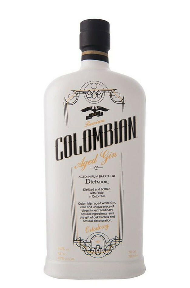 Image of   Colombian Premium Aged Gin Ortodoxy Fl 70