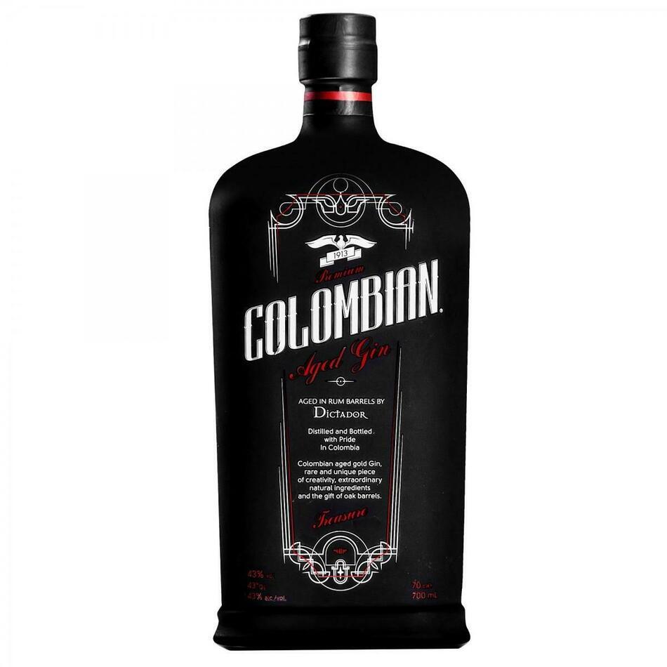 Image of   Colombian Premium Aged Gin Treasure Fl 70