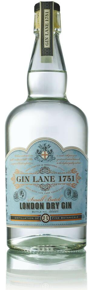 Image of   Gin Lane 1751 London Dry Gin Fl 70