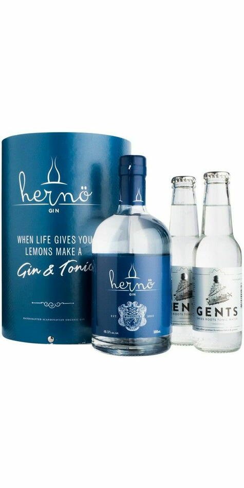 Image of   Hernö Gin Giftpack M/2 Gents Tonic 50