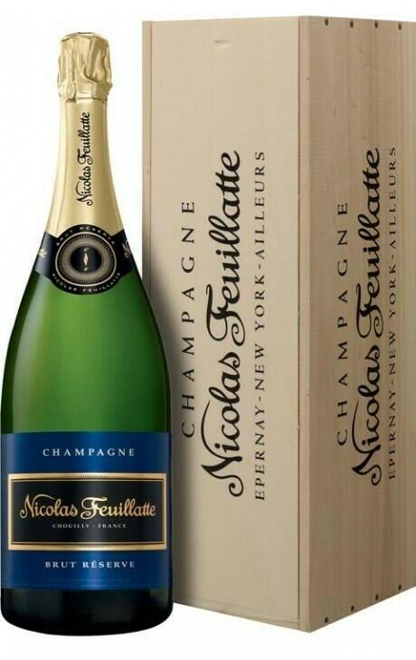 Image of   Feuillatte, Champagne Brut Réserve (Mg) 1,5 Ltr