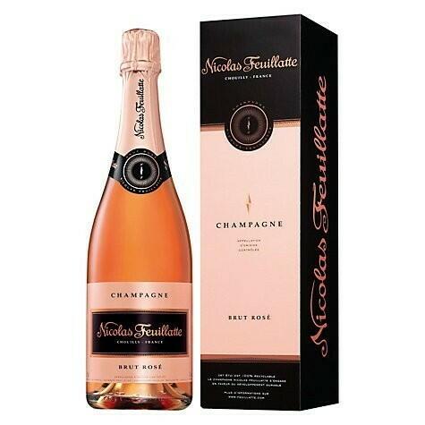 Image of   Feuillatte, Champagne Brut Rosé 0,7 liter5 Ltr