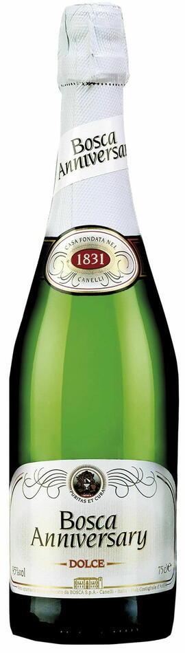 Image of   Bosca Anniversary Sweet Asti 0,7 liter5 Ltr