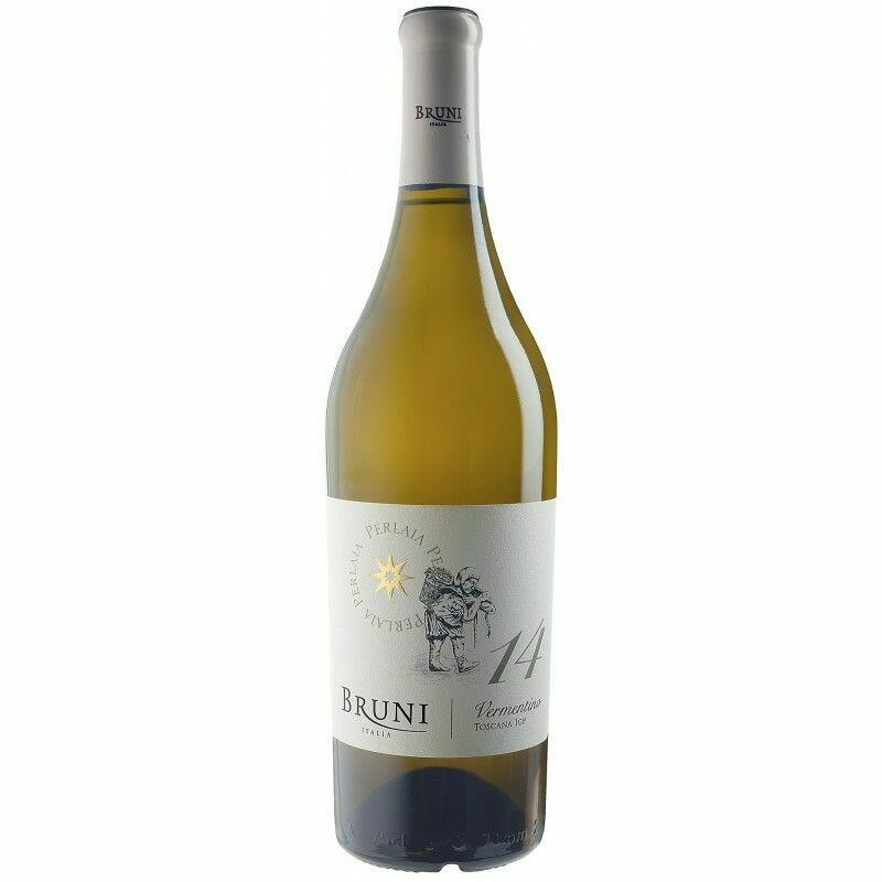 "Image of   Bruni ""Perlaia"" Vermentino Toscana 2017 0,7 liter5 Ltr"