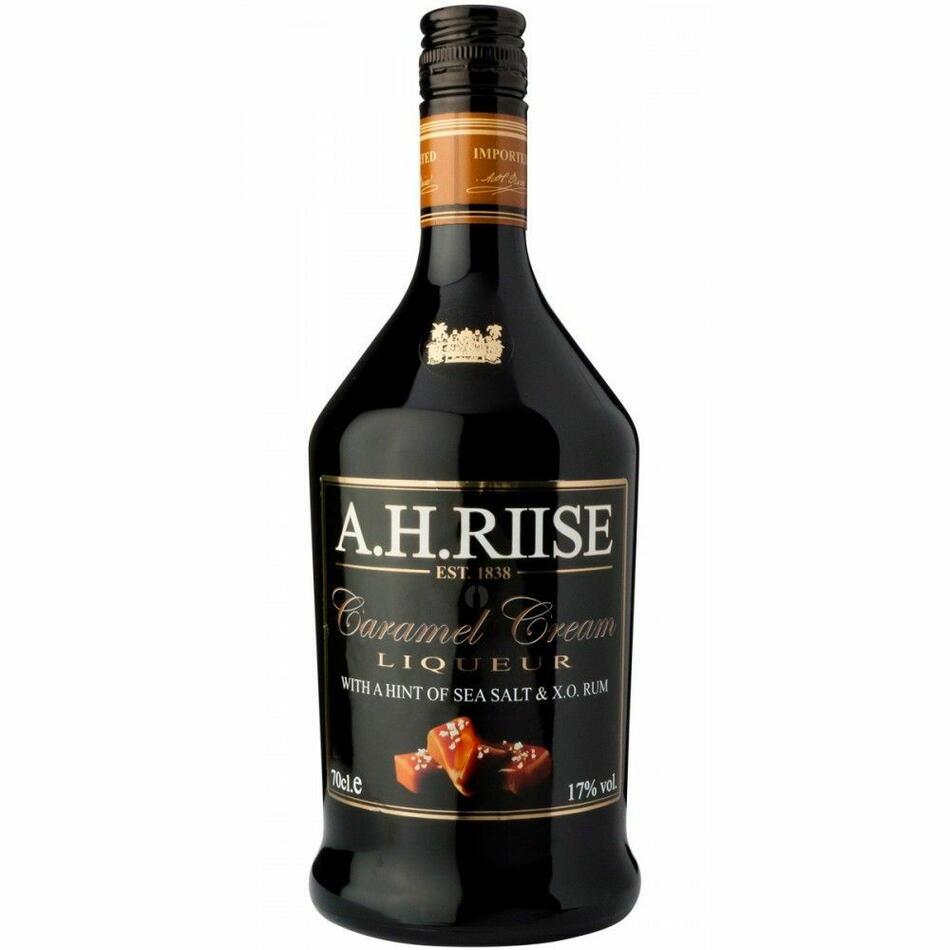 Image of   A.H. Riise Caramel Rum Cream Liqueur Fl 70