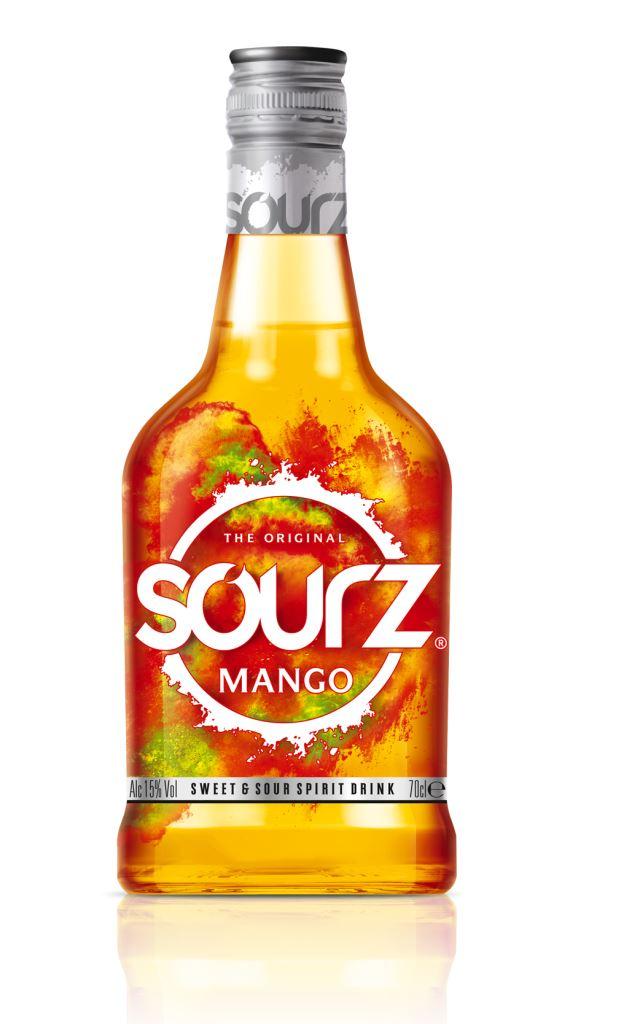 Image of   Sourz Mango Fl 70