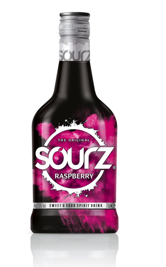 Image of   Sourz Raspberry / Hindbær Fl 70