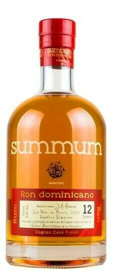 Image of   Summum Ron Dominicano Cognac Cask Finish Fl 70