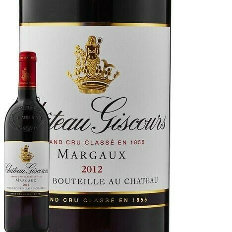 Image of   Ch Giscours, 3.Cru 2012 0,7 liter5 Ltr