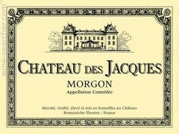 Image of   Louis Jadot, Chateau Des Jacques Morgon 2011 0,7 liter5 Ltr