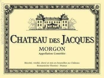 Image of   Louis Jadot, Chateau Des Jacques Morgon 2011 0,7 liter5 Ltr
