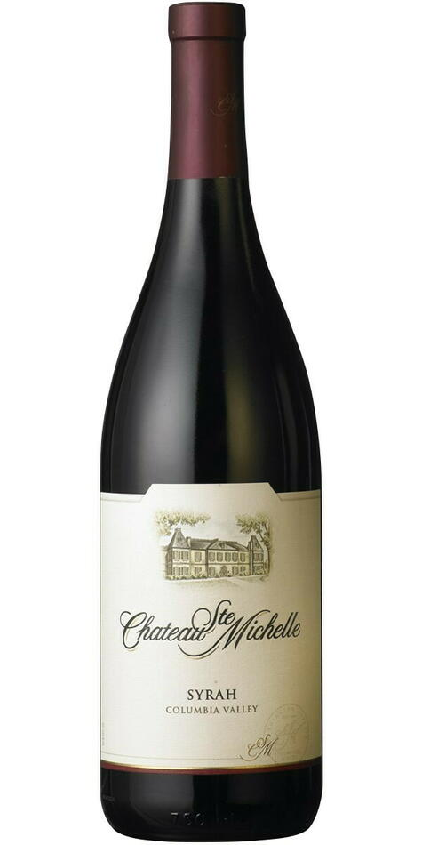 Image of   Château Ste. Michelle, Columbia Valley Syrah 2012 0,7 liter5 Ltr