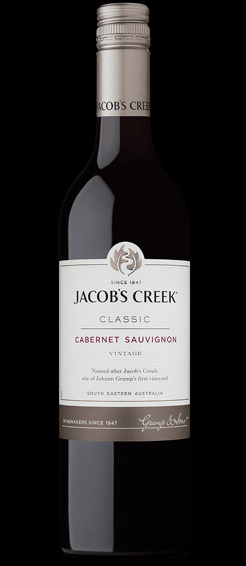 Image of   Jacobs Creek Cabernet Sauvignon 0,7 liter5 Ltr