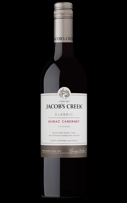 Image of   Jacobs Creek Shiraz / Cabernet 0,7 liter5 Ltr