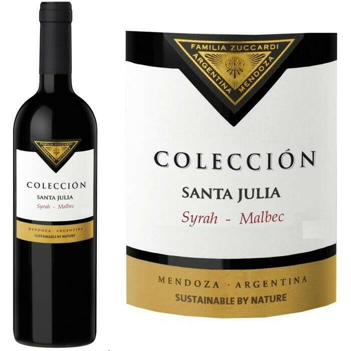 Image of   Santa Julia Coleccion Syrah / Malbec 0,7 liter5 Ltr