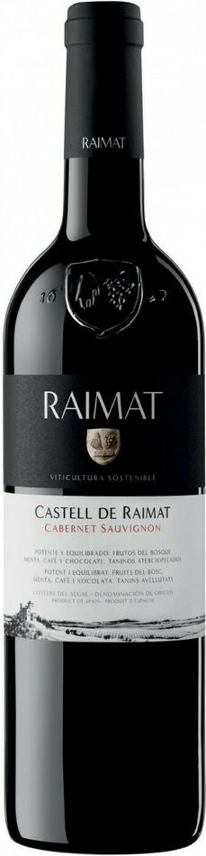 Image of   Raimat, Castell Cabernet Sauvignon 0,7 liter5 Ltr