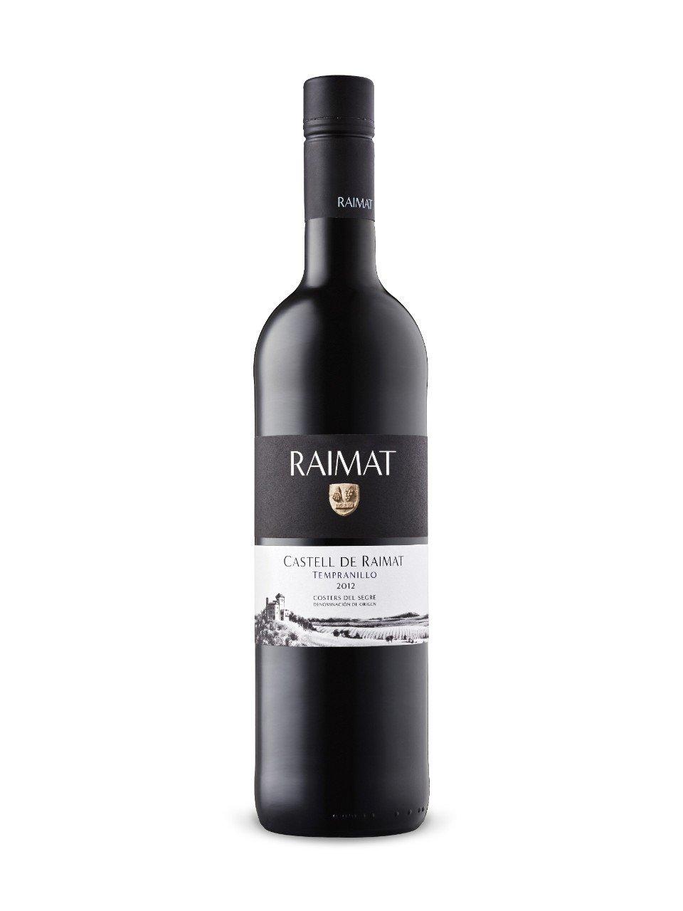 Image of   Raimat, Castell Tempranillo 2012 0,7 liter5 Ltr