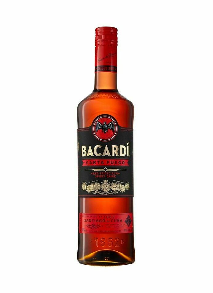 Image of   Bacardi Carta Fuego Fl 70