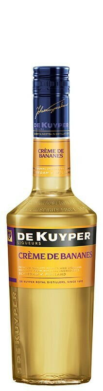Image of   De Kuyper Liqueur Creme De Bananes Fl 70