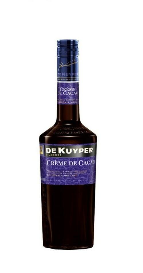 Image of   De Kuyper Liqueur Creme De Cacao Brown Fl 70