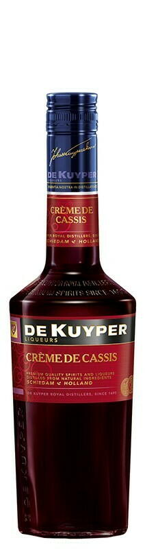Image of   De Kuyper Liqueur Creme De Cassis Fl 70