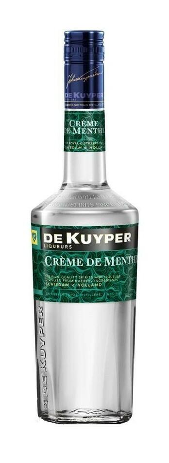 Image of   De Kuyper Liqueur Creme De Menthe White Fl 70