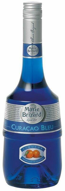 Image of   Marie Brizard Sirup Curacao Bleu Fl 70