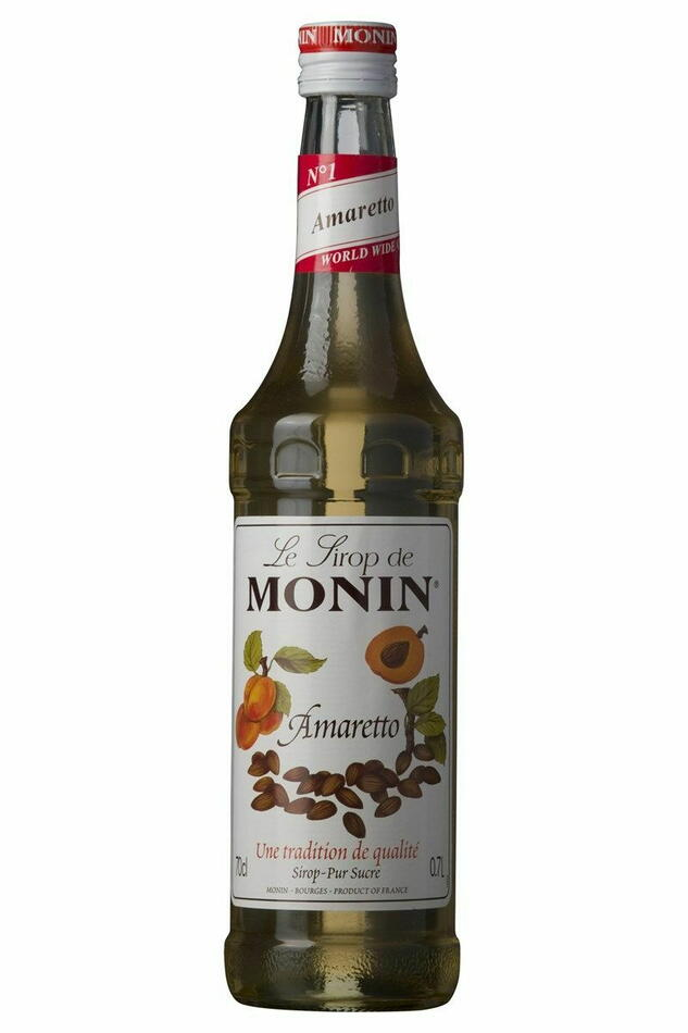 Image of   Monin Syrup Amaretto Fl 70