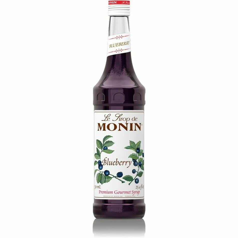 Image of   Monin Syrup Blueberry / Blåbær Fl 70