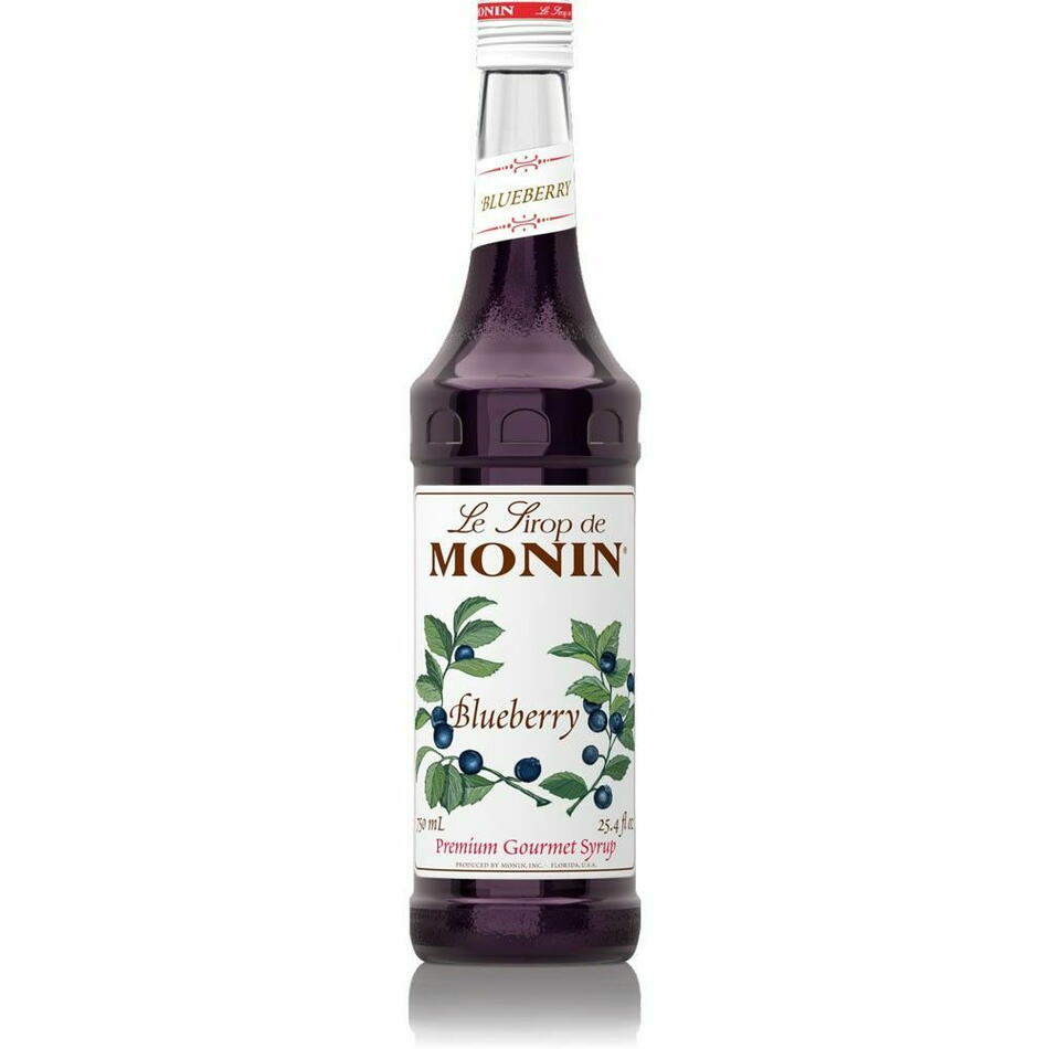 Image of   Monin Syrup Blueberry / Blåbær Fl 70