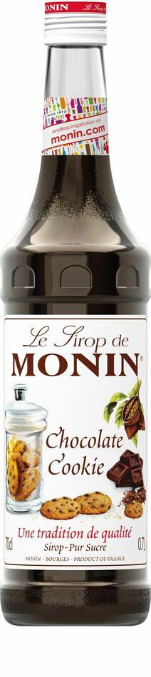 Image of   Monin Syrup Chocolate Cookie / Chokoladekage Fl 70