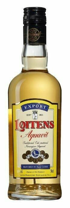 Image of   Løitens Export Aquavit Fl 50
