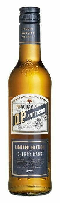 Image of   O.P. Anderson Sherry Cask Aquavit Fl 50