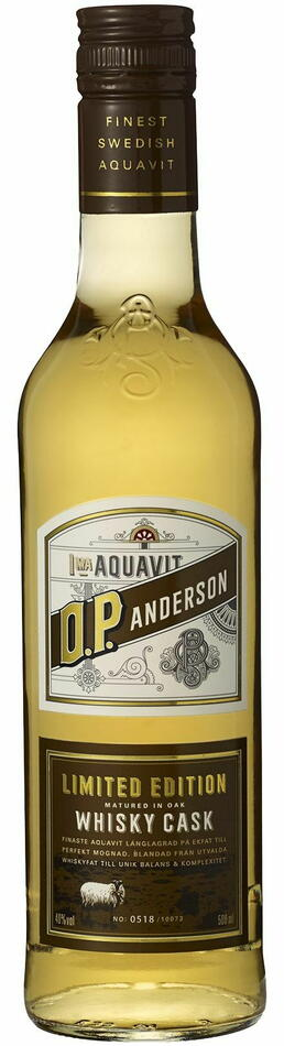 Image of   O.P. Anderson Whisky Cask Aquavit Fl 50