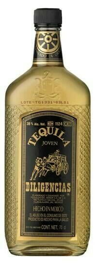 Image of   Diligencias Tequila Gold Fl 70