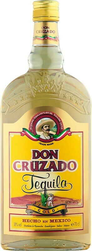 Image of   Don Cruzado Tequila Gold Fl 70