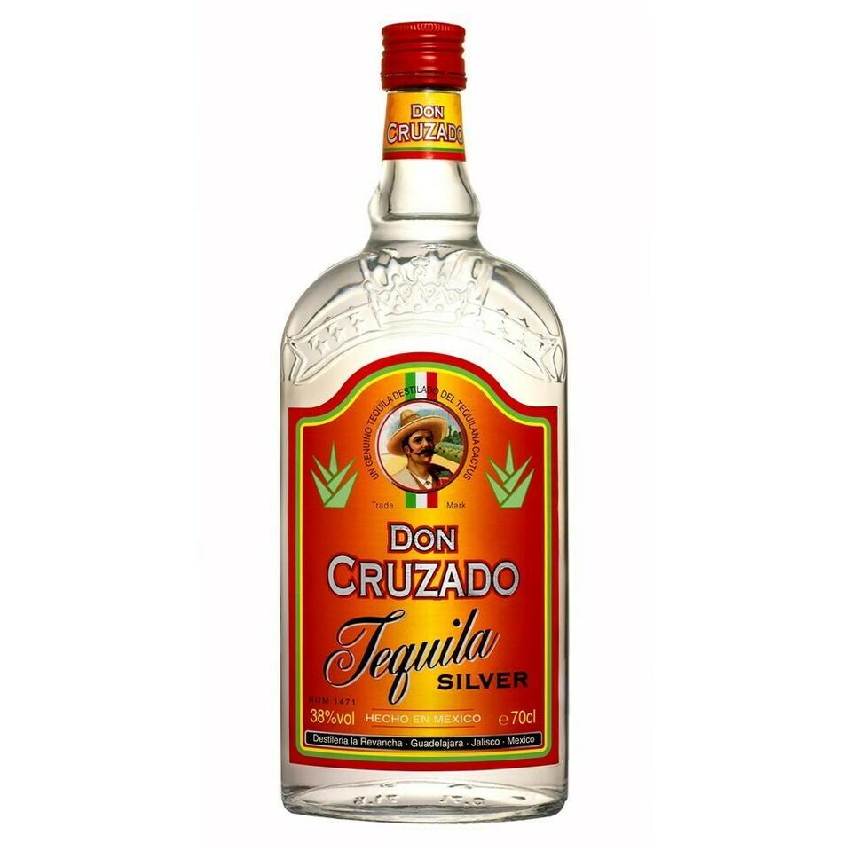 Image of   Don Cruzado Tequila Silver Fl 70