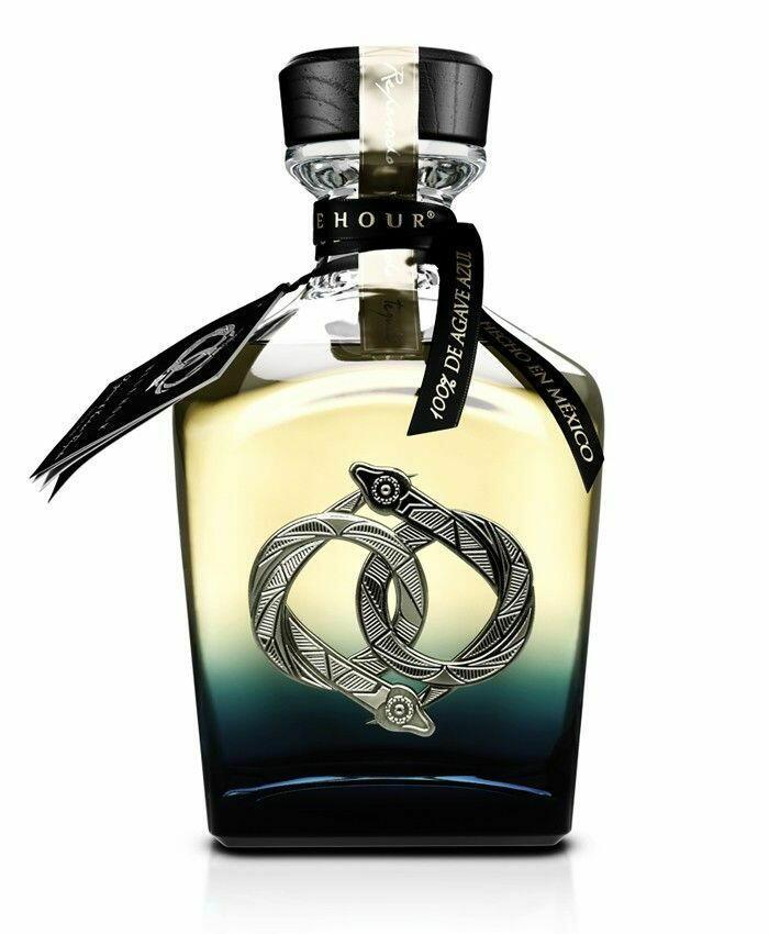 Image of   La Hora Azul Tequila Reposado Fl 70