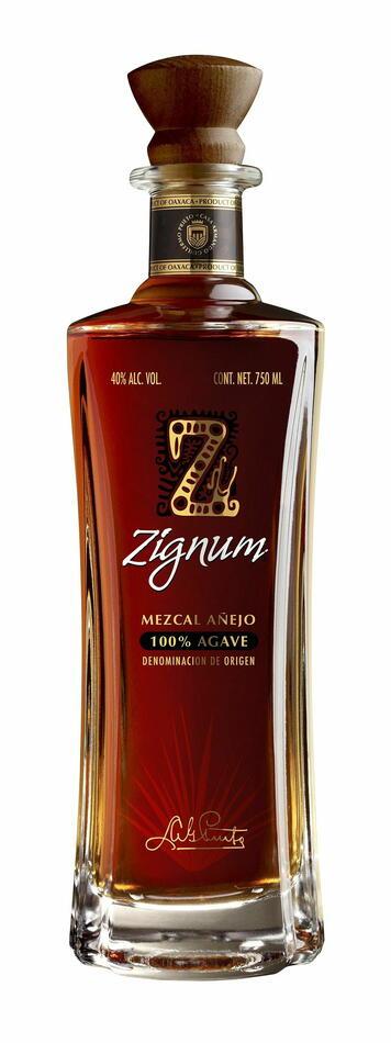 Image of   Mezcal Zignum Reposado Fl 70