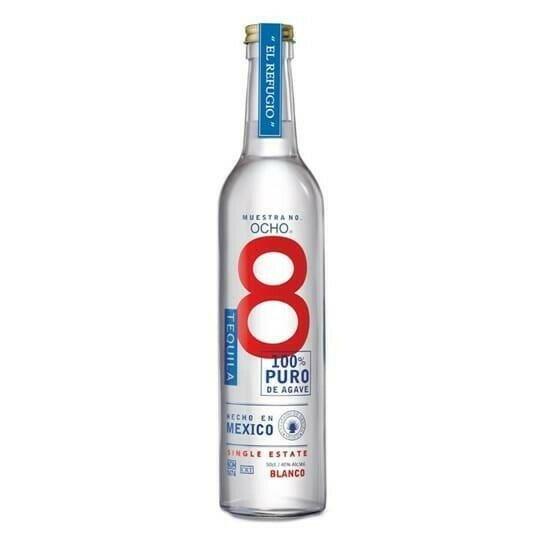 """Image of   Ocho Tequila Blanco """"Los Nopales"""" Fl 50"""